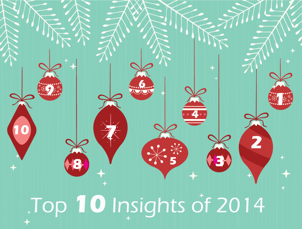 top ten insights of 2014